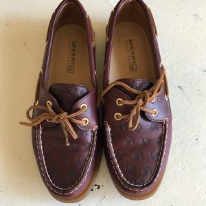 SPERRY TOP-SIDER | Anchor Leather Flat Loafers 7.5